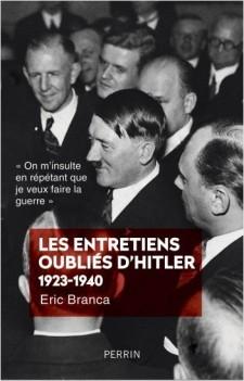 Les entretiens oubliés d'Hitler 1923-1940 chez Perrin