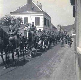 Allemands dans la région de Saumur